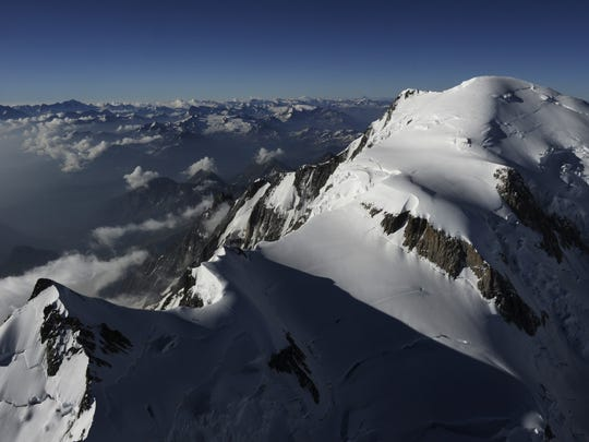 An aerial picture taken on July 16, 2010 in the French