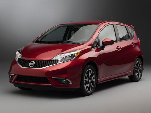 Nssan's ready to go with the 2015 version of the Versa Note small car, on sale this spring. The sporty-looking SR is the model's showpiece at the Chicago auto show.