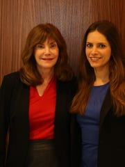 Gail Konstantin and Lauren Konstantin work together at the Hudson River Wealth Management team at UBS in White Plains.
