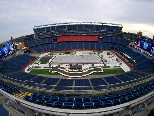 Hockey's Winter Classic will be held at Gillette Stadium.