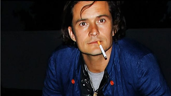 Orlando Bloom is one of the celebrities taken to task in a new anti-smoking ad.