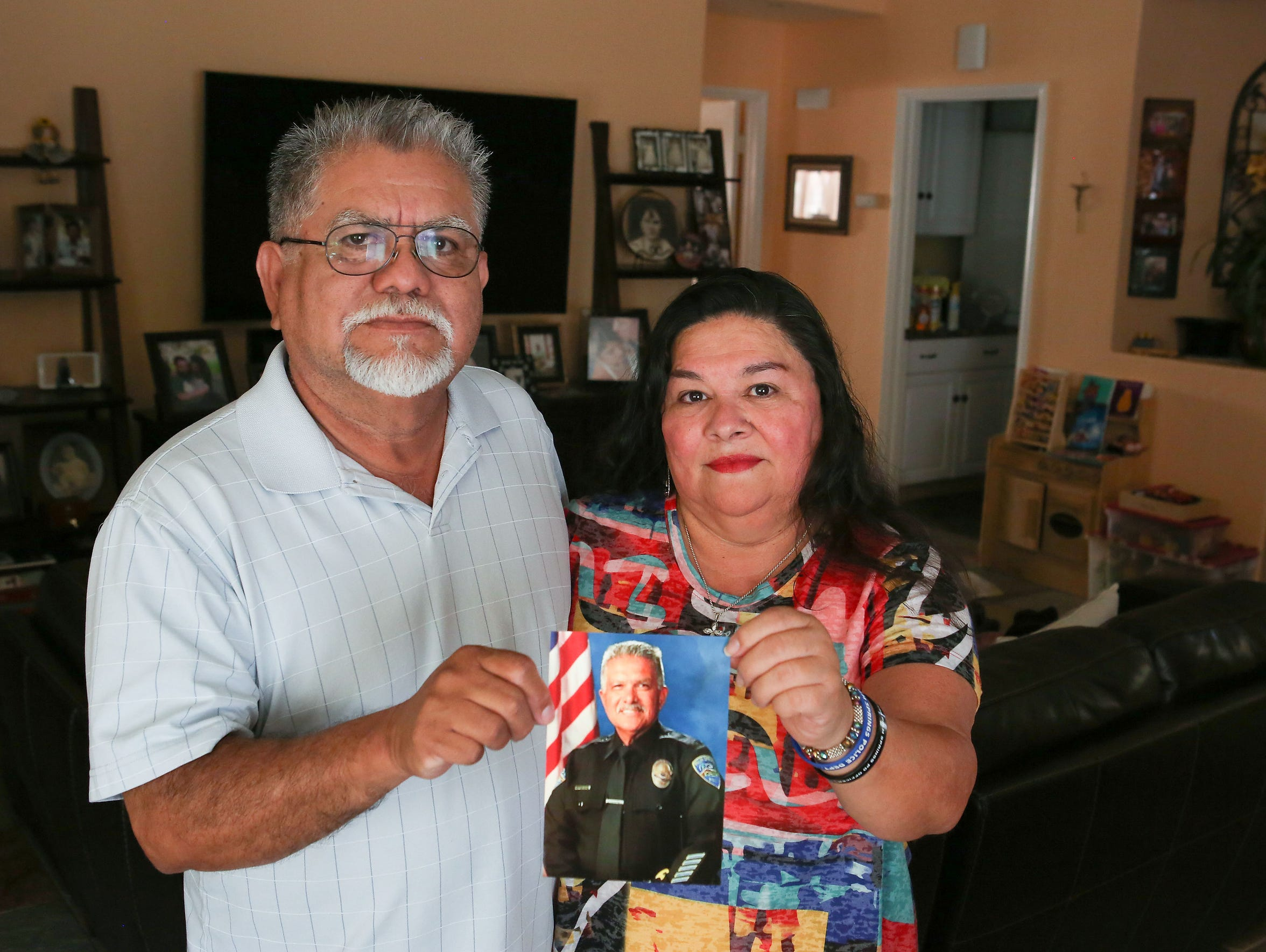 Jose and Lulu Vega remember Jose's brother Gilbert