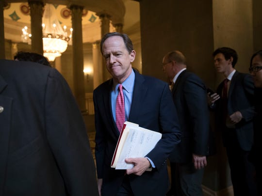 Sen. Pat Toomey, R-Pa., a member of the tax-writing