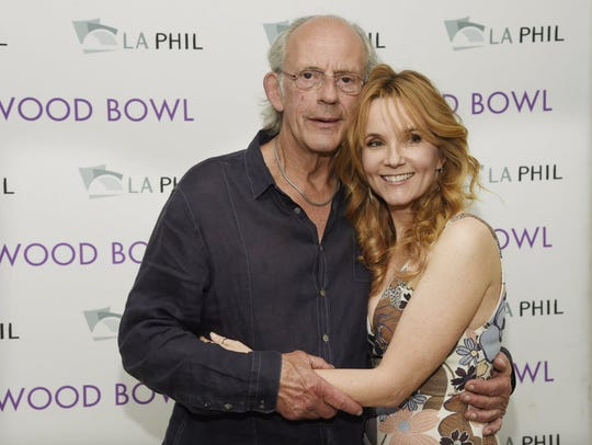 Christopher Lloyd and Lea Thompson have stayed close