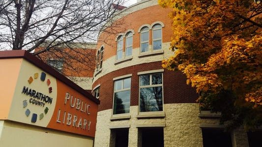 The Marathon County Public Library headquarters in Wausau.