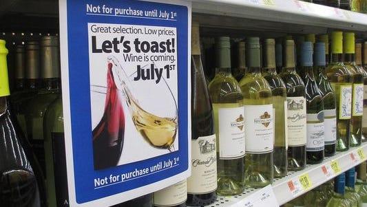 Wine sales