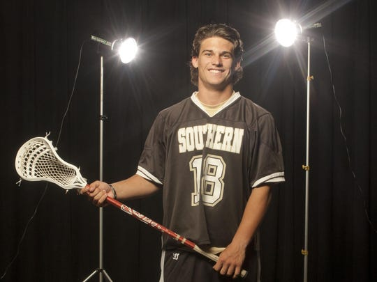 Dylan Jinks of Southern is the 2015 All-Shore Boys Lacrosse Player of the Year.