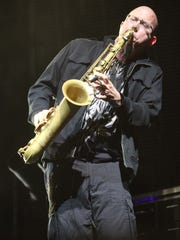 Jeff Coffin on Saxaphone. Dave Matthews Band played