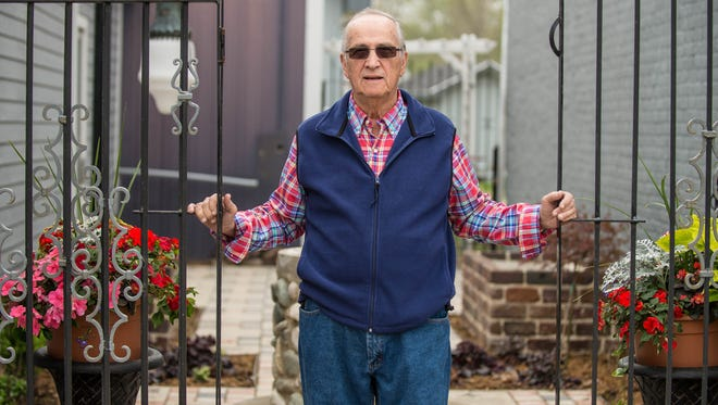 "Eladio ""Chico"" Ramirez is a George Award winner for helping create a courtyard that will raise money for the renovation of the Athens Area Historical Society museum."