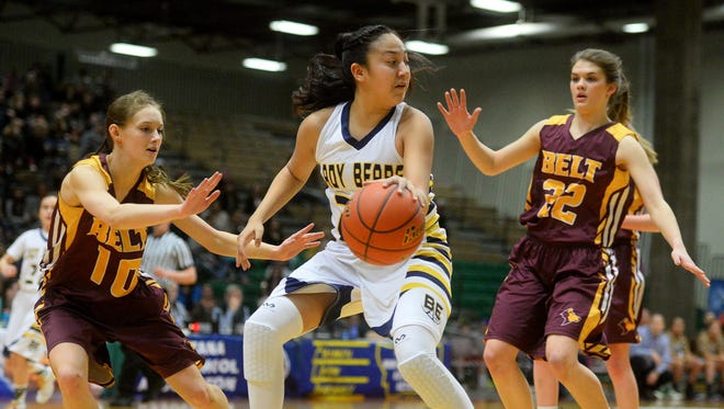 Box Elder's Lillian Gopher is a 5-10 junior who has vast experience and talent.
