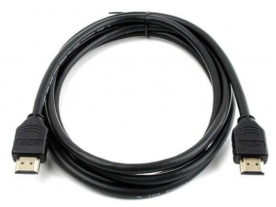 This 5-foot HDMI cable costs only $2 and will work for a variety of home-theater needs or connect a laptop to an external monitor.