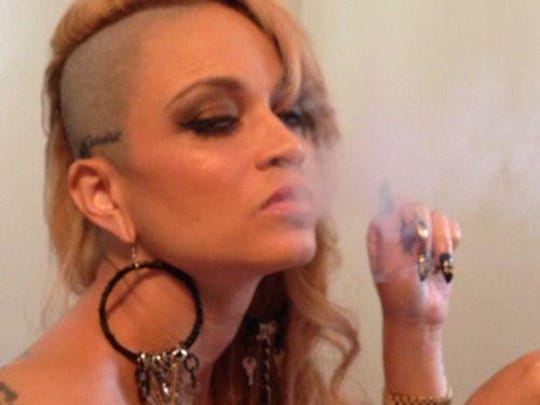 Rapper Charli Baltimore, one of Brian Brown's girlfriends,
