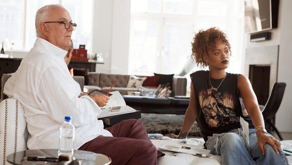 Manolo Blahnik and Rihanna. Work.