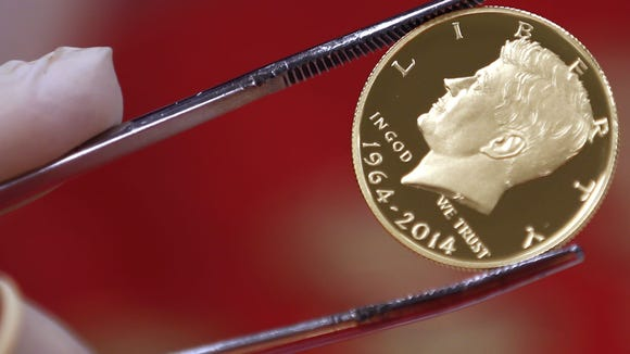 The incredible vanishing Kennedy half dollar