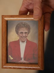 A photo of 80-year-old Nelda Hunt who died on July 22, 2015, at McLaren Hospital in Flint.