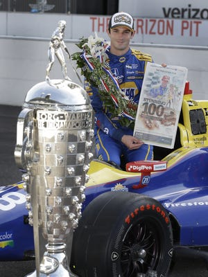 IndyCar driver Alexander Rossi gets a nice chunk of change for his 500 victory.
