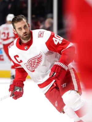 Red Wings center Henrik Zetterberg.