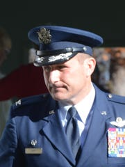 Col. Bryan Teff, commander of the 110th Attack Wing.