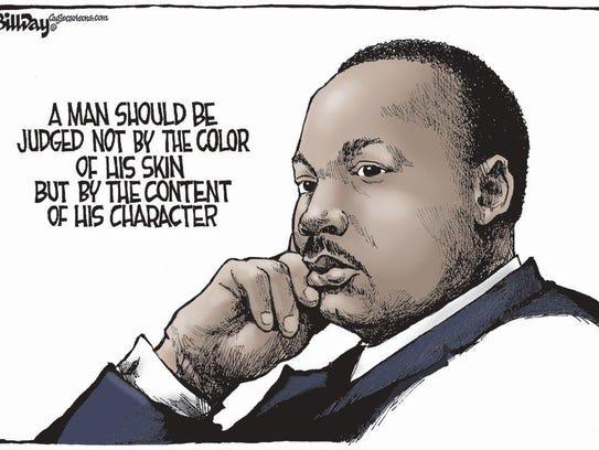Honoring Dr. King.