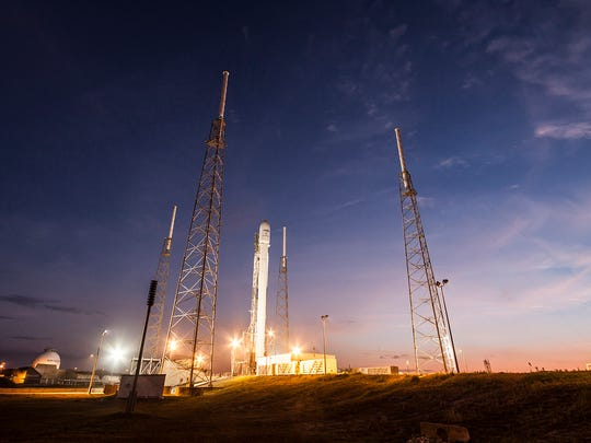 On March 1, 2015, a SpaceX Falcon 9 rocket launched