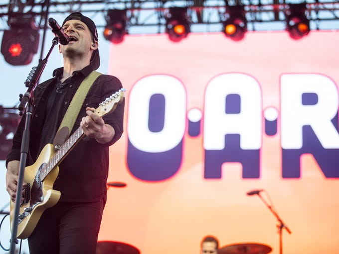 O.A.R performs at McDowell Mountain Music Festival
