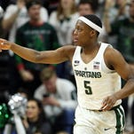 Michigan State basketball takes hot-shooting Cassius Winston home to Detroit vs. Oakland