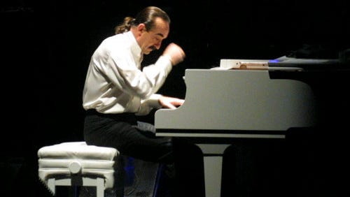 The popular Argentine jazz and easy listening pianist Raul di Blasio is set to perform at 8 p.m. Thursday at the Plaza Theatre.