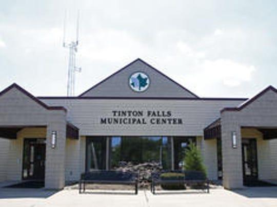 Tinton Falls municipal building.