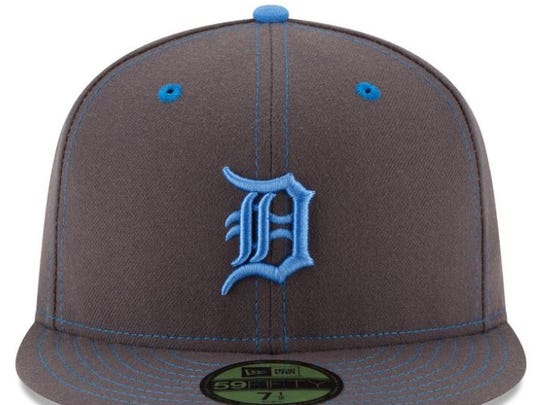 Cap the Tigers will wear on Father's Day at Kansas City on Sunday, June 19, 2016.