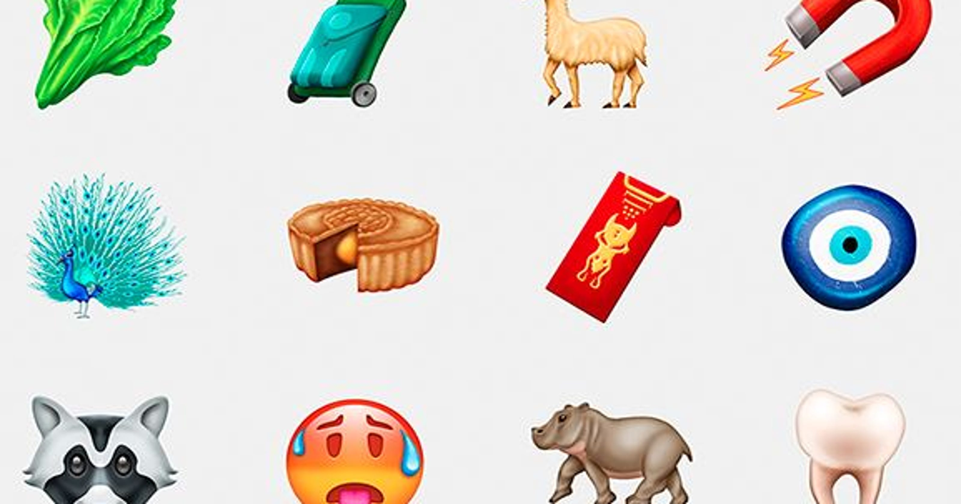 New emoji: Hippo among Unicode Consortium's latest batch of symbols