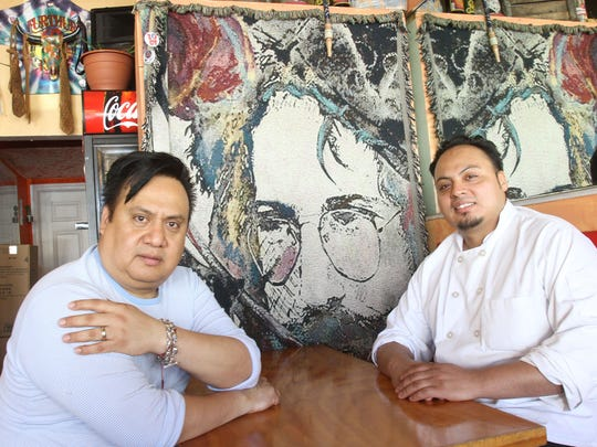 From left, Pedro Najera and Azael Vargas, co-owners of Taqueria on Westchester Avenue in downtown Port Chester April 13, 2016.