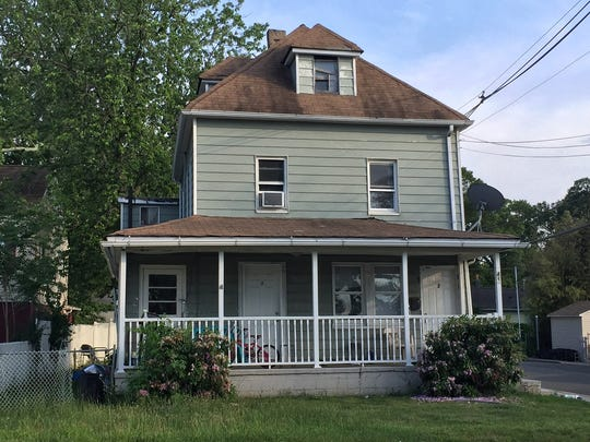 A house at 48 Port Monmouth Road in Keansburg was taken back by the bank last Monday.