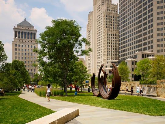 10 Best Campus Martius Park Helped Revive Detroit
