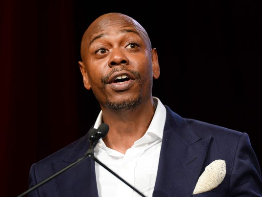 AP PEOPLE DAVE CHAPPELLE A ENT ELN FILE USA NY
