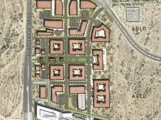 One Scottsdale, a mixed-use project at Scottsdale Road