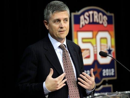 AP ASTROS GM BASEBALL S BBN USA TX