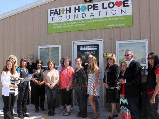 The Faith, Hope & Love Foundation provides food, clothing and shelter to the vulnerable in Carlsbad.