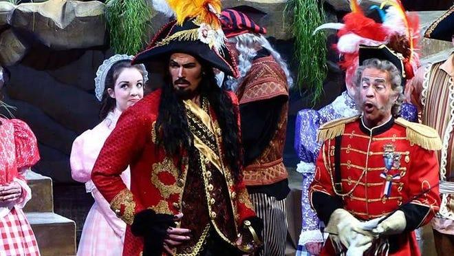 Shreveport Opera performed Pirates of Penzance in 2015.