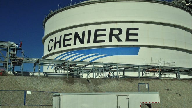 Cheniere Energy Inc.'s Sabine Pass LNG Terminal in Cameron Parish is pictured in this Advertiser file photo