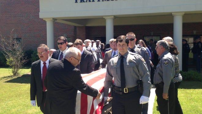 Autauga Sheriff's Sgt. Troy Seamon was laid to rest Thursday.