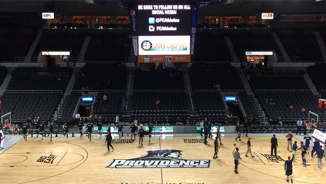 Xavier men's basketball plays Providence College at Dunkin Donuts Center.
