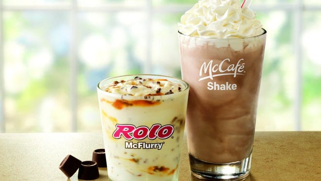 McDonald's vanilla ice cream treats no longer have artificial preservatives or flavors.