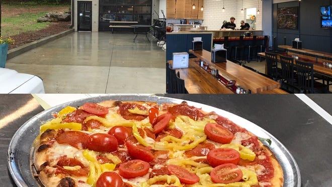 Charleston-based D'Allesandro's Pizza's second location in Greenville, SC.