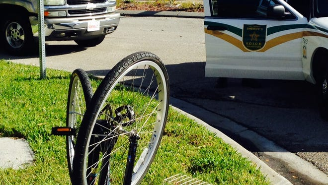 Bicyclist hit by an SUV at University Drive and College Parkway.