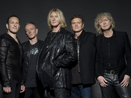 Def Leppard will perform June 25 at Klipsch Music Center.