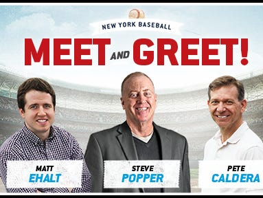 Get a FREE ticket to the NY Baseball Meet & Greet July 18 from 7 – 9 p.m. at Dinosaur Bar-B-Que in Newark, NJ
