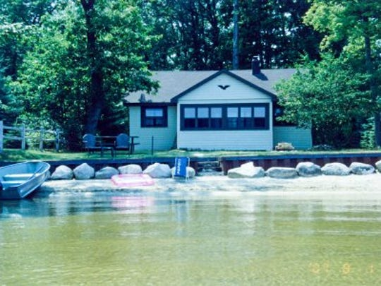 Classic cottages for rent include Black Lake Cottage near Cheboygan, on RentalBug.com.