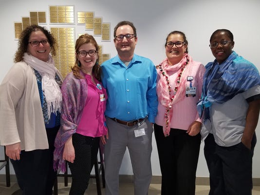 Raritan Bay Medical Center supports thyroid awareness PHOTO CAPTION