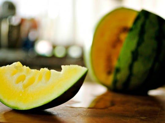 Frozen melon balls make a delicious snack.