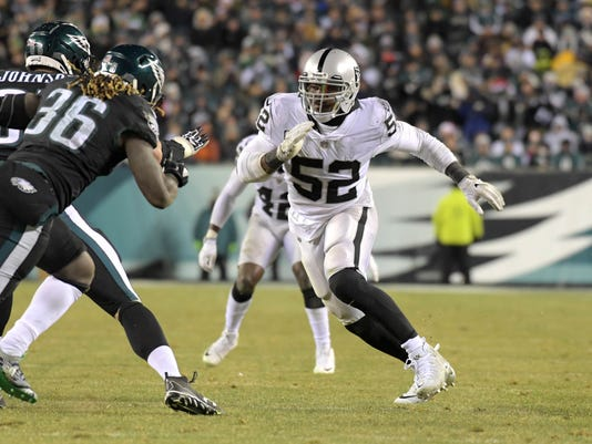 NFL: Oakland Raiders at Philadelphia Eagles